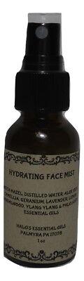 Essential Oil Face Hydrating Spray Mist 1 oz -