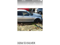 Bmw 320d e46 silver spares breaking