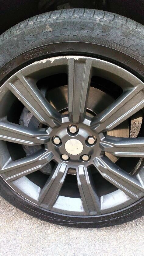 Alloy wheels Range Rover stormers
