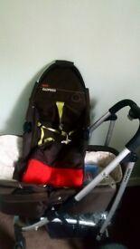 Cosatto 3 in 1 pram, biggie and car seat