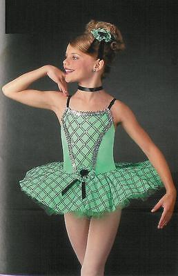 PORTRAIT Ballet Tutu Dance Dress Costume Nutcracker Christmas CXS,6X7,AS,AL
