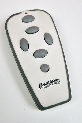Casablanca W-72 VersaTouch2 Handheld Remote Control Transmitter for Ceiling Fans