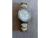 Carvelle New York Women's Watch with diamanté detail