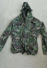 Royal marine issue camo jacket