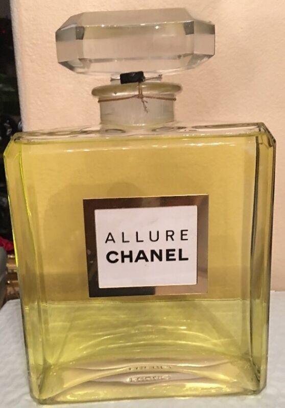 Chanel Allure Store Display/Factice Glass Huge