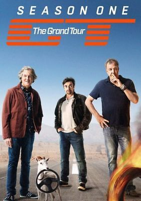 The Grand Tour Season 1- One DVD Box Set New & Sealed Pack