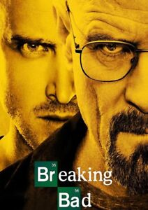 Breaking bad season 1, 2 & 5 blu ray