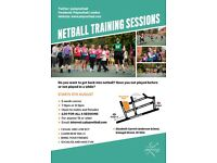 Netball Training - Sign Up Now
