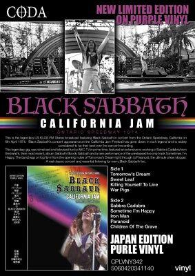 BLACK SABBATH - CALIFORNIA JAM - LTD Purple vinyl - New & sealed  vinyl lp