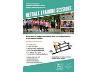 Netball Training Course - Beginners Welcome