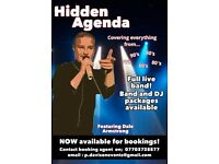 Hidden Agenda- The ultimate cover band (weddings, events and gigs)