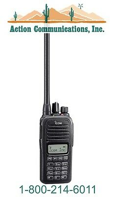 New Icom Ic-f1000t-09 Vhf 136-174 Mhz 5 Watt 128 Channel Two Way Radio