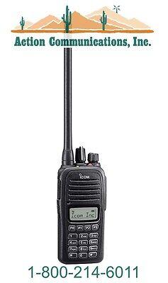 New Icom Ic-f1000t Rc Vhf 136-174 Mhz 5 Watt 128 Channel Two Way Radio