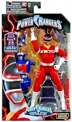 Power Rangers In Space Legacy Red Ranger Action Figure Build A Megazord