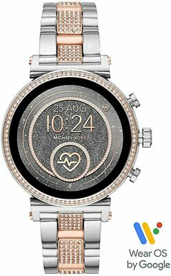 Michael Kors Access Sofie Rose Gold Heart Rate Touchscreen Smart Watch MKT5064