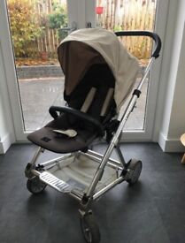 Mamas & Papas Urbo travel system (buggy, carry cot, car seat)