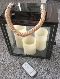 Lantern & led candles
