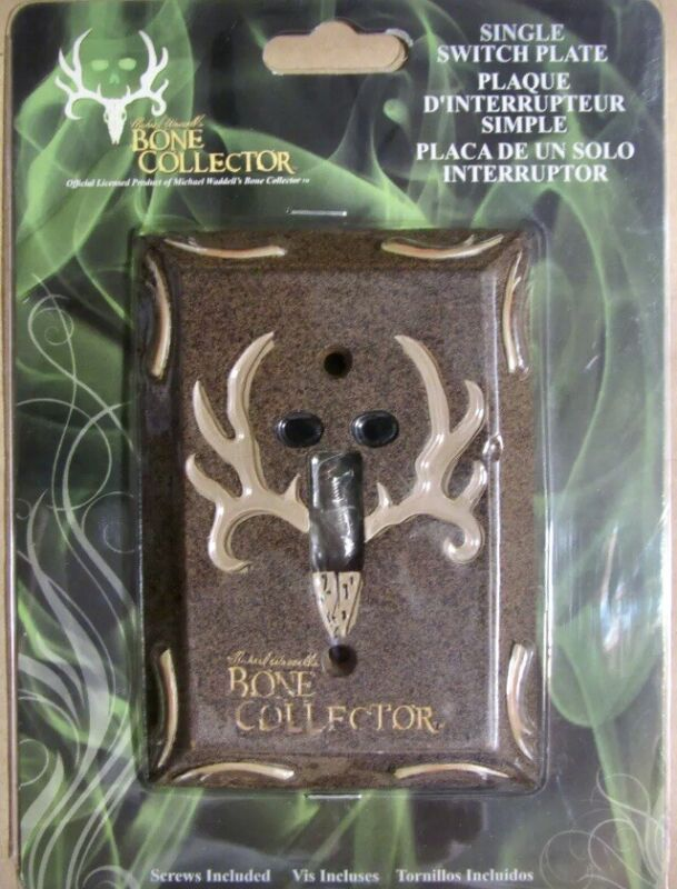 Bone Collector Single Light Switch Plate Cover