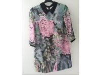 Ted Baker 'Opulent bloom' Dress Size 4 (UK 14)