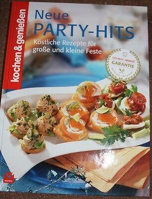 KOCHEN&GENIEßEN Neue Party Hits  für große & kleine Feste Küche Haushalt Rezept