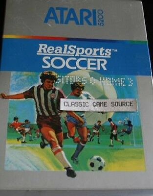 Real Sports Soccer For Atari 5200 Factory Sealed