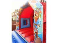 12ft X 17ft Pirate Slide Combo Theme Bouncy Castle commercial grade