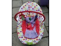 Mamma's & Pappas vibrating seat with music (jungle style)