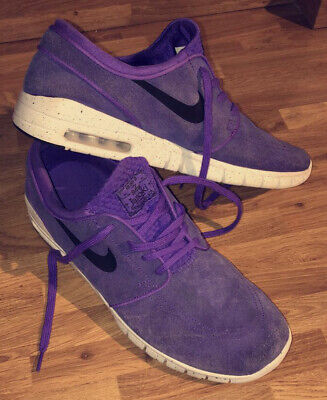 NIKE STEFAN JANOSKI - Limited Edition Trainers Triple Purple Size 11 UK Stunning