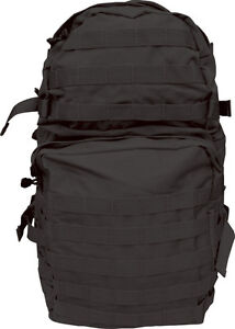 ELITE-ASSAULT-Patrol-Pack-40-Litre-ARMY-BLACK-New-RUCKSACK-MEDIUM-MOLLE-MILITARY