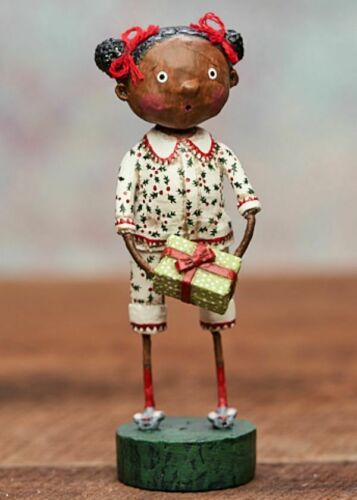 Lori Mitchell Darling Darlene Girl Figure Holiday Christmas 13329