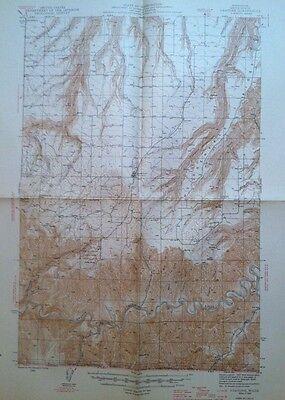 Vintage USGS  Topo Map  1946 Anatone  Asotin County Washington State