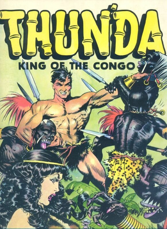 Thunda King Of The Congo  Russ Cochran 1973  Classic Frank Frazetta