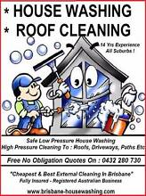 House Washing - Roof Cleaning Brisbane City Brisbane North West Preview