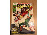 The invincible ironman vol 1 comics large collectiom