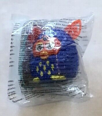 McDonalds Happy Meal Toy 2013 Furby Boom! - Blue with Orange Ears...
