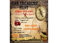 Car Treasure Hunt hosted by Sweet Memories
