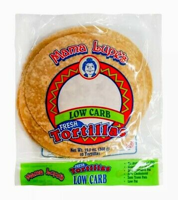 Mama Lupe Low Carb Tortillas (PACK OF 6) KETO -