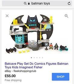 Imaginext bat cave