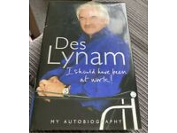 Des Lynam My Autobiography