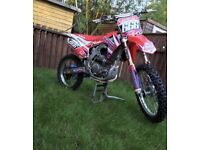 Honda CRF 250 2015 twin pipe immaculate only 25hrs from new kxf sxf yzf Rmz
