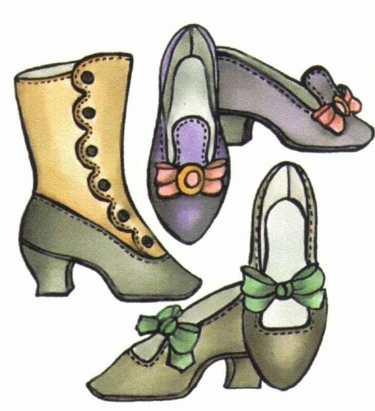 Shoe & Boot Sewing pattern fashion MSD DS  BJD  DOLL  7 different sizes 1566