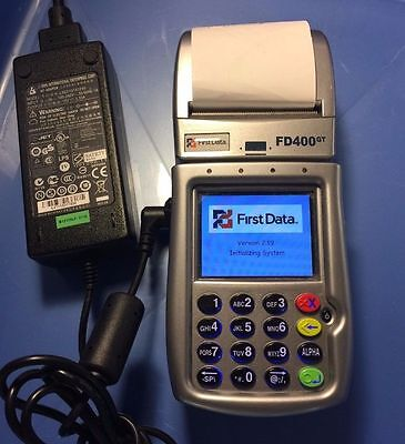First Data Fd400gt Gprs Wireless Terminal Just 199 Free Shipping