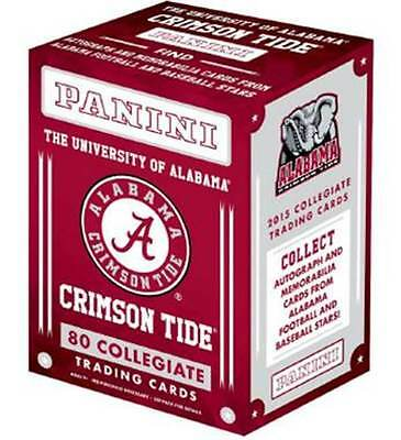 2015 Panini Alabama Crimson Tide Multi Sport Retail Blaster Box Trading Cards