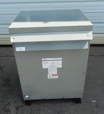 FEDERAL PACIFIC, TRANSFORMER, T43T75E, 3 PHASE, 60 Hz, LINE VOLTAGE 480 ()