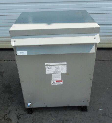 FEDERAL PACIFIC, TRANSFORMER, T43T75E, 3 PHASE, 60 Hz, LINE VOLTAGE 480