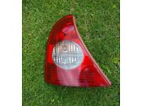 Renault clio mk2 passenger side tail light