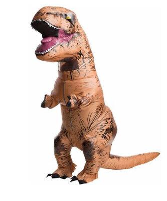 T-Rex Costume Inflatable Dinosaur Large Kids Adult Halloween Jurassic Park Party (Jurassic Park Dinosaur Costume)