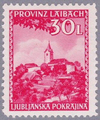 Laibach Mi.Nr. 60 postfrisch mit Fotobefund Brunel VP