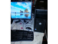 **DELL Windows 10 PC 4gb 320gb** -KODI TV Movies- MS Office 2013 - WiFi - GREAT CONDITION