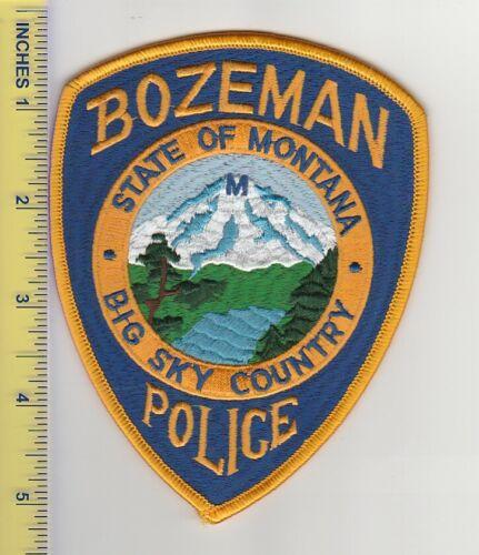 US Police Patch Bozeman Montana Police Department